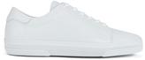 A.P.C. Men's Jaden Leather Tennis Shoes White