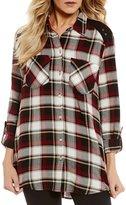 Westbound Two Pocket Boyfriend Shirt
