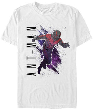 Marvel Men Ant-Man Galaxy Painted Ant-Man Short Sleeve T-Shirt