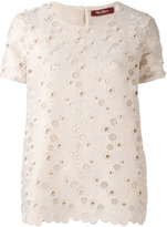 Max Mara embroidered top
