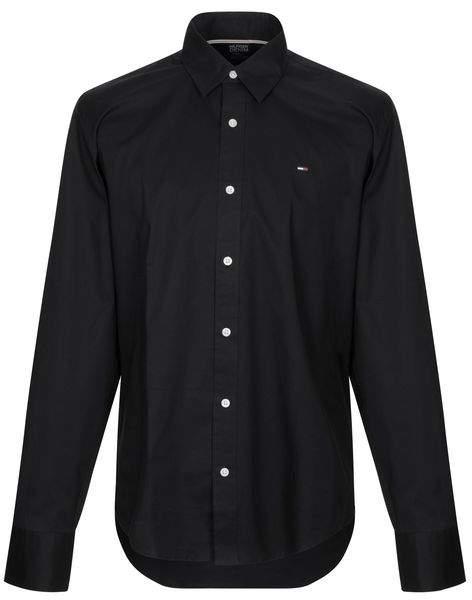 3bbaf2177e5 Tommy Jeans Black Tops For Men - ShopStyle UK