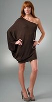 Twelfth St. by Cynthia Vincent One Shoulder Sweater Dress