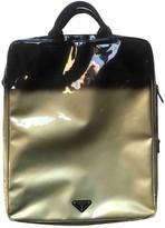 Prada Grey Patent leather Bags