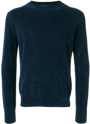Ballantyne Ribbed Crew Neck Pullover