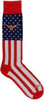 For Bare Feet Texas Longhorns Flag Top Socks