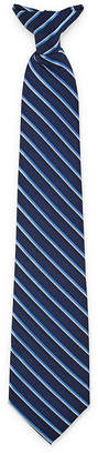 Van Heusen Striped Clip on Tie