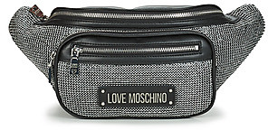 Love Moschino SPARKLING BAGS women's Hip bag in Black