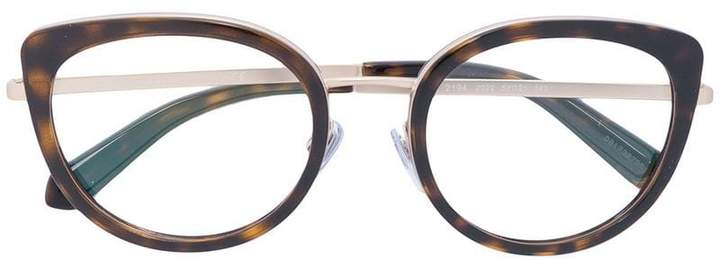Bulgari cat-eye glasses