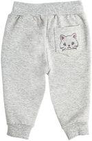MonnaLisa Embellished Cotton Sweatpants
