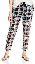 Madonna Women's Relaxed Floral Trousers - Multicoloured