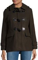 MICHAEL Michael Kors Plus Wool-Blend Toggle Coat