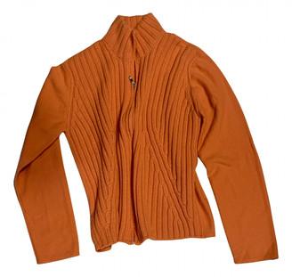 Brunello Cucinelli Orange Wool Knitwear