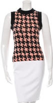 Moschino Wool Houndstooth Top