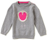 Joules Baby/Little Girls12 Months-3T Intarsia Pullover Sweater