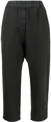 Nili Lotan Cropped Straight Trousers