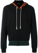 Raf Simons zipped hoodie