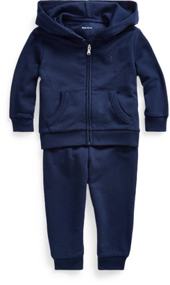Ralph Lauren French Terry Hoodie & Trouser Set