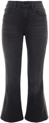 Frame Le Crop Mini Boot Mid-rise Kick-flare Jeans