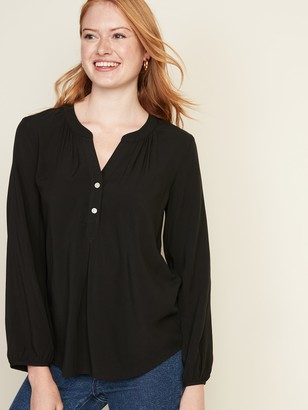 Old Navy Relaxed Popover Blouse for Women