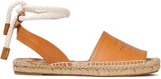 Rag & Bone Estelle Logo-debossed Leather Espadrille Sandals