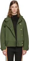 Etoile Isabel Marant Green Ira Jacket