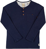 Scotch Shrunk COTTON-BLEND LONG-SLEEVE HENLEY