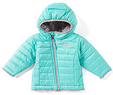 The North Face Baby Girls 3-24 Months Reversible Mossbud Swirl Hoodie Jacket