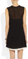 3.1 Phillip Lim Stretch-silk mini dress