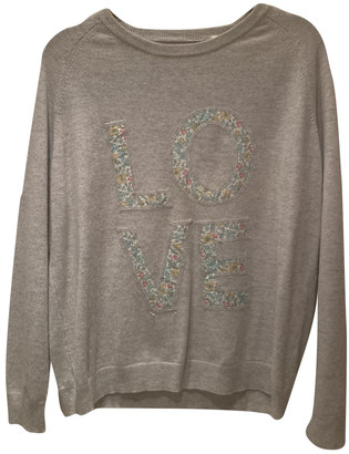Chinti and Parker Grey Cashmere Knitwear
