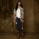 Denim & Supply Ralph Lauren Python-Print Skinny Jean