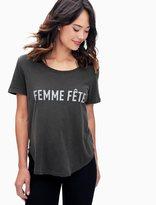 Splendid Femme Fete Crew Tee