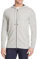 Vince Cashmere Zip Hoodie Sweater
