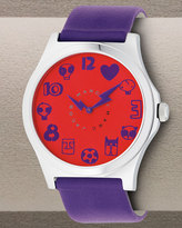 Marc by Marc Jacobs Mode Watch, Red/Purple