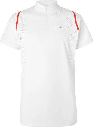 Stella McCartney Adidas Sport + Free-Lift Slim-Fit Stretch-Jersey Tennis T-Shirt