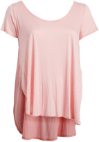 Paparazzi Pink Scoop-Neck Top - Plus