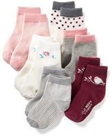 Old Navy Crew Socks 6-Pack for Toddler & Baby