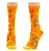 Bioworld Pokemon Charmander Juniors Crew Socks