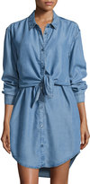 Cheap Monday Great Button-Up Shirtdress, Luv Blue