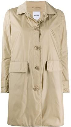 Aspesi button down New Albanella coat