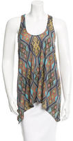 Mara Hoffman Geometric Print Sleeveless Top