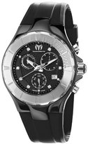 Technomarine Unisex 110028 Cruise Ceramic Chronograph Black Dial Watch
