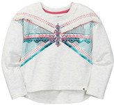 Lucky Brand Fringe Crew Pullover (Toddler Girls)