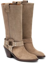 Thumbnail for your product : See By Chloé Suede cowboy boots