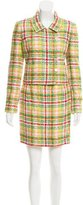 Chanel Tweed Mini Skirt Suit