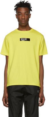 MONCLER GENIUS 7 Moncler Fragment Hiroshi Fujiwara Yellow Moxxxer Fxxxx T-Shirt