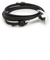 Miansai Anchor Leather Bracelet