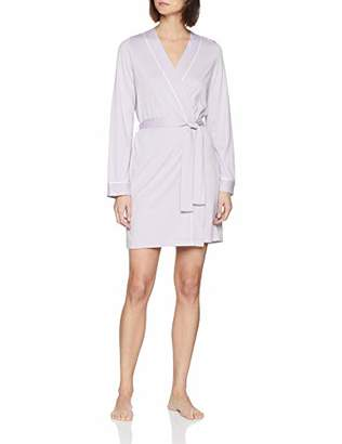 Lovable Women's Delicate Lilac Dressing Gown,(Size: L/XL)