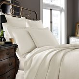Kassatex Arno Collection King Coverlet in Ivory