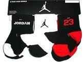 Nike Jordan Baby Boy's Socks, 6 PAIRS