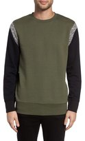 Zanerobe Splinter Colorblock Crewneck Sweatshirt